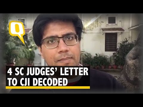 Supreme Court Judges' Letter to CJI Explained | The Quint