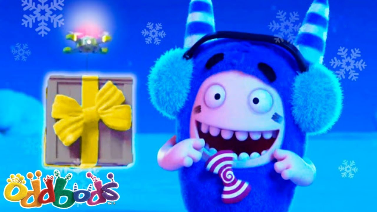 100 days Countdown To The Holidays | Oddbods | NEW | Funny Cartoons For Kids