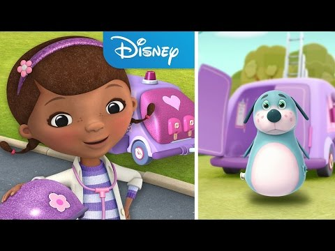 Doc McStuffins ❤ Mobile Clinic Rescue - Game App For Kids