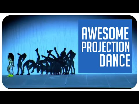 Awesome video projection dance routine from Thailand's Got Talent
