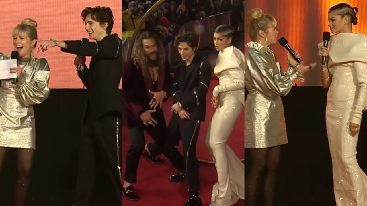 Download Timothee Chalamet and Zendaya 'Dune' Premiere Leicester Square TikTok Live Stream