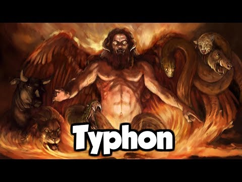 Typhon: The Father Of All Monsters - (Greek Mythology Explained)