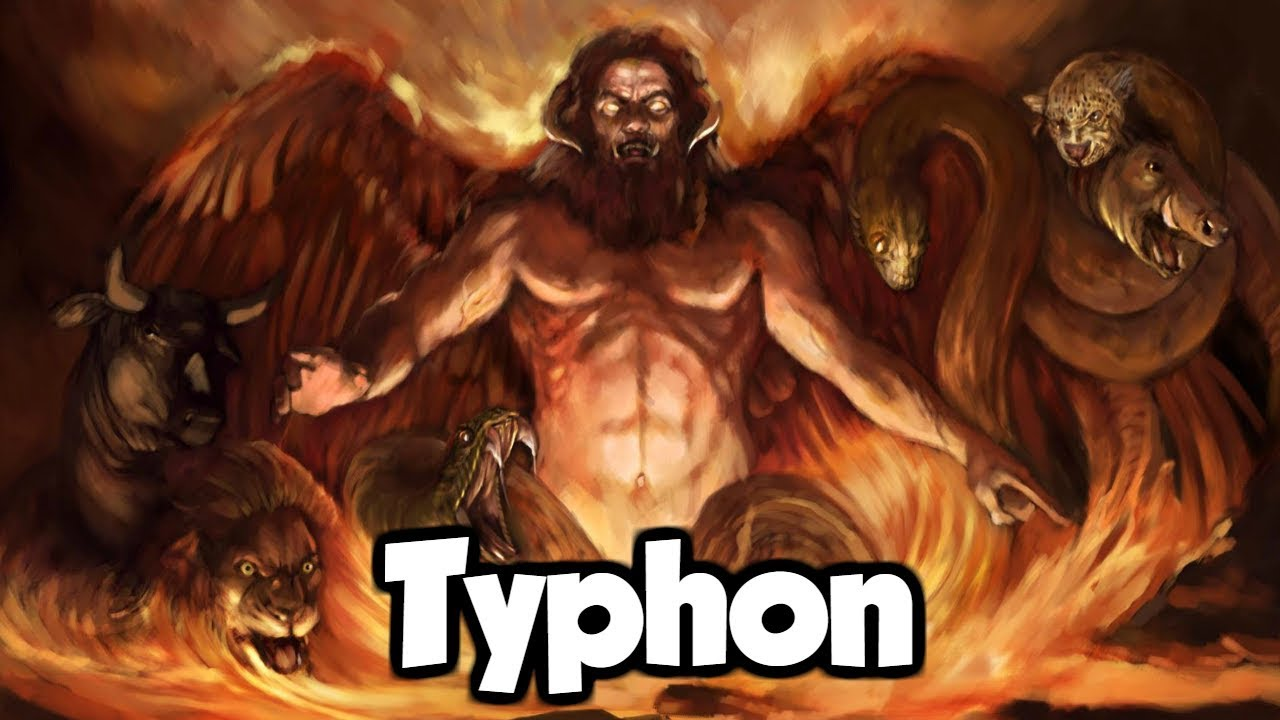 Typhon The Father Of All Monsters Greek Mythology Explained Youtube