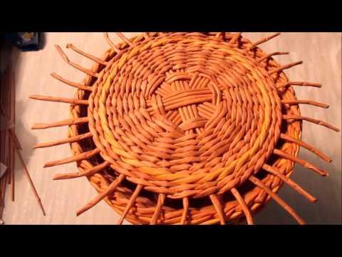 Плетение самовара из газетных трубочек. Урок 7. Плетение крышки самовара.