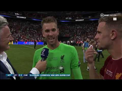 """""""Welcome to Liverpool! It's been a crazy week!"""" Adrian speaks after the penalty shoot-out!"""