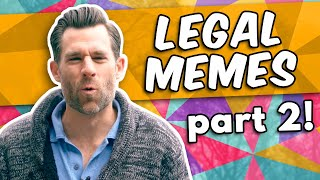 Lawyer Reacts to LEGAL MEMES 2 (2Legal2Meme) // LegalEagle