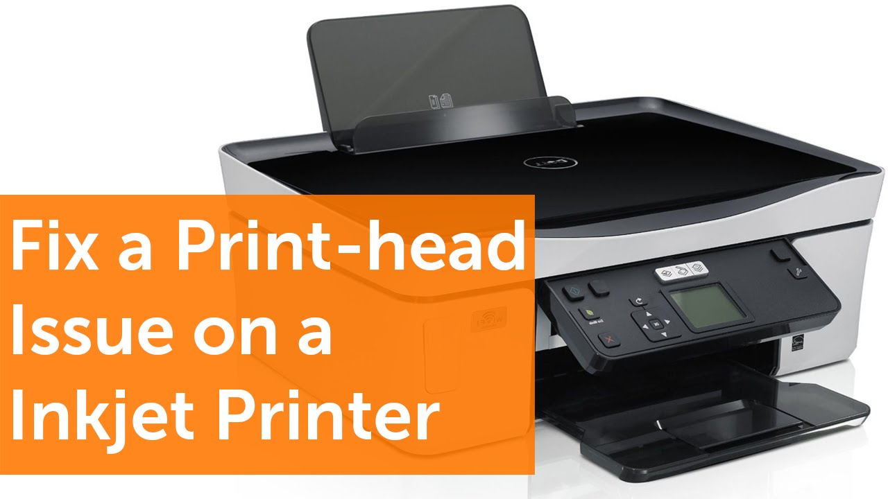 How To Fix A Print Head Issue On A Dell Inkjet Printer In