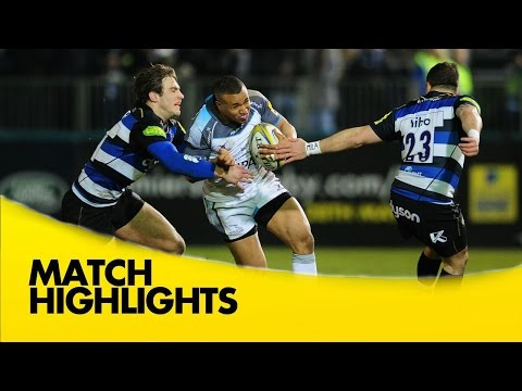 Bath V Newcastle Falcons - Aviva Premiership 2015/16