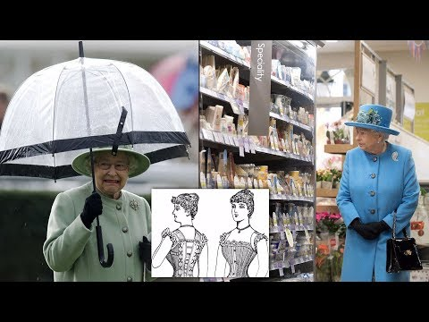 11 places the Queen shops for clothes, household goods, and everyday items