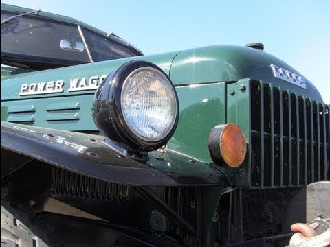 Classics revealed: The 1963 Dodge Power Wagon one ton pick-up still at work