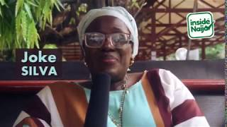 Joke Silva with the Inside Naija Team on International Women's Day