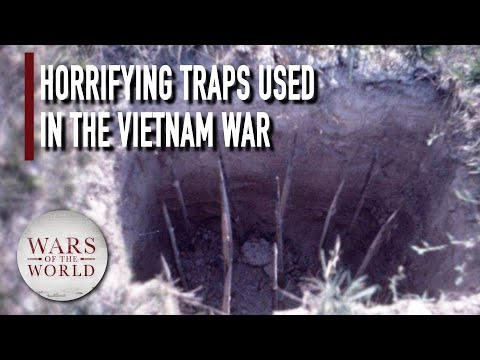 4 Most Devastating Booby Traps Used During the Vietnam-American War...