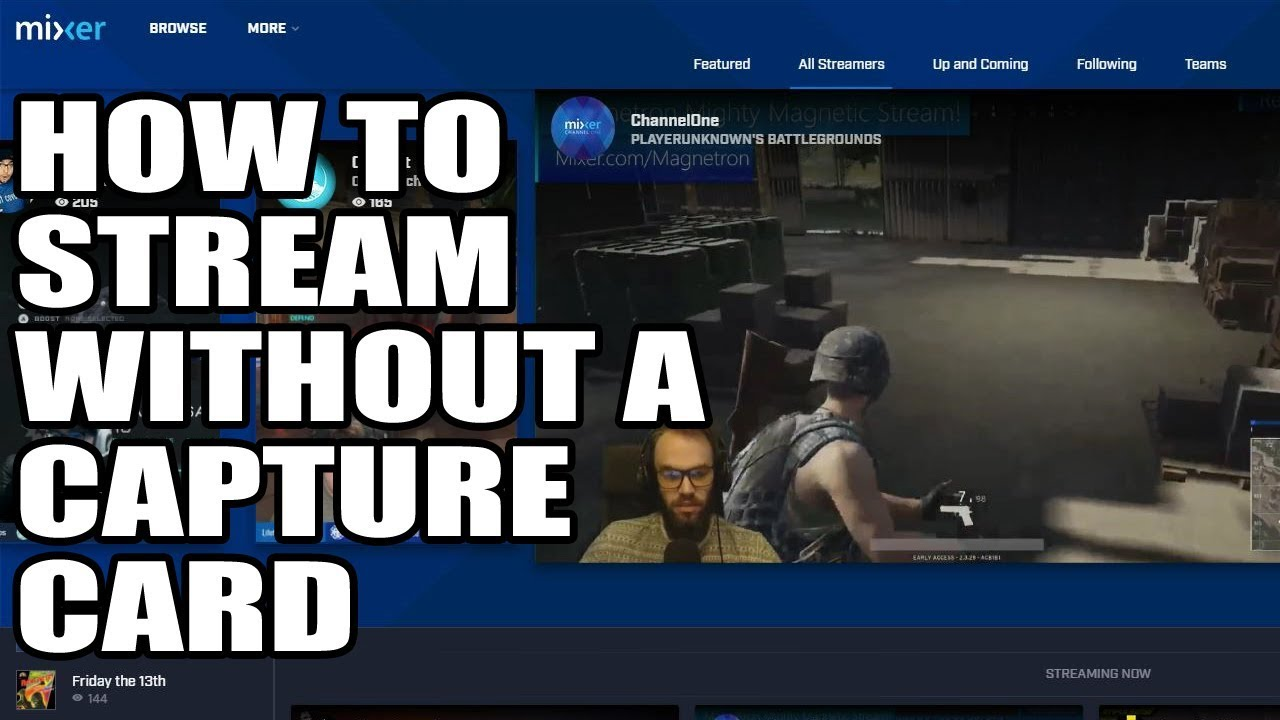 how to get obs to connect to mixer