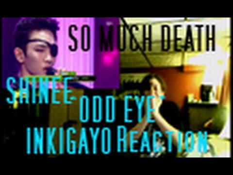 "INKIGAYO SHINee ""Odd Eye"" Performance Reaction"