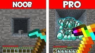 Minecraft Battle - NOOB vs PRO : SUPER PICKAXE BATTLE! (Animation)