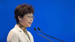 Live: Carrie Lam speaks to the press following protests in HK