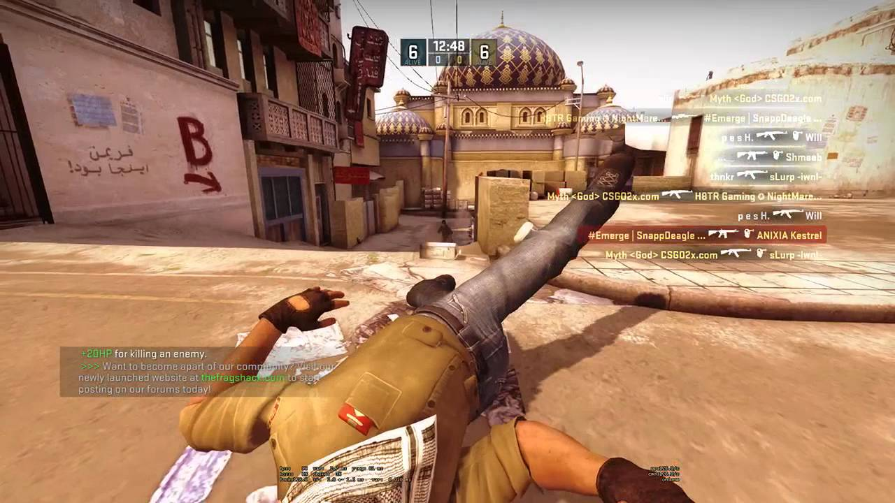 CS: GO How to increase the time for rounds of CS: GO