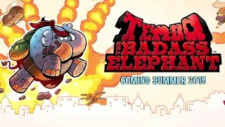 TEMBO The Badass Elephant Announcement Trailer (2015) - Video Game HD