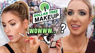 DOLLAR TREE MAKEUP CHALLENGE... Is it any good?!