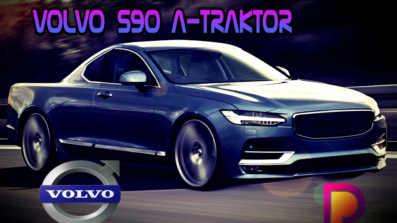 VOLVO S90 A TRAKTOR // PAC_DESIGNER // VIRTUAL TUNING // GIMP // - YouTube