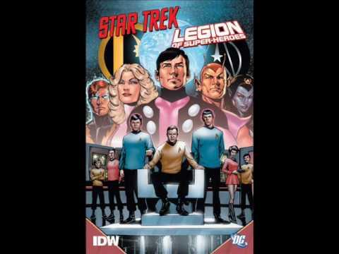 Star Trek/Legion of Super-Heroes review