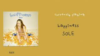 Cover images SOLE (쏠) - 'haPPiness' [AUDIO] 🔈