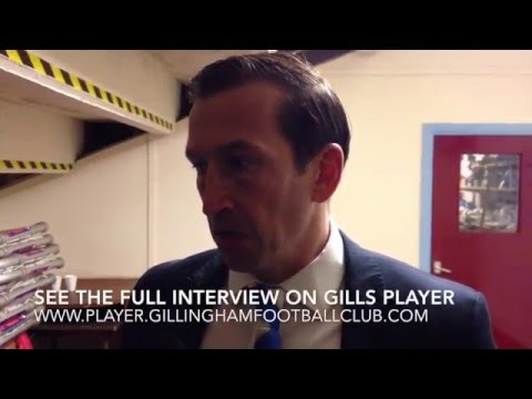Justin Edinburgh post-Scunthorpe United