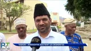 Benin Ahmadiyya Muslims support underprivileged