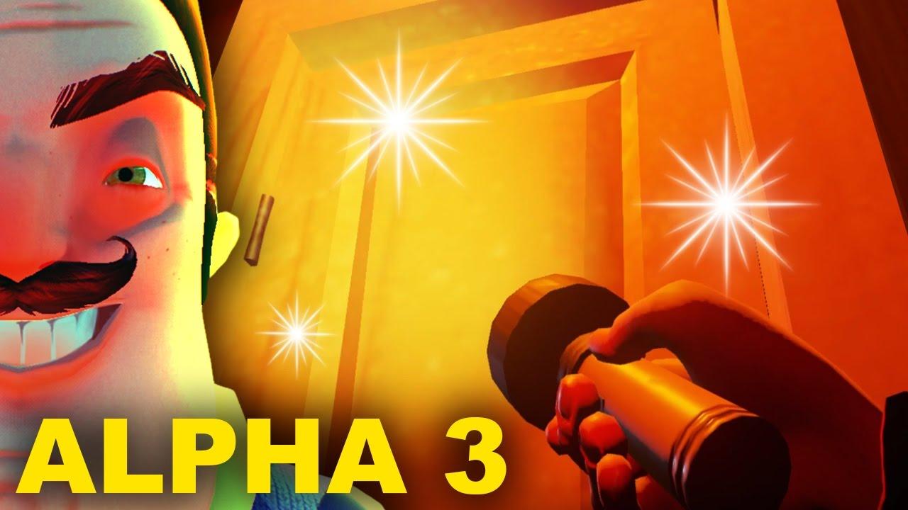 & BEHIND THE GOLDEN DOOR IN ALPHA 3 - Hello Neighbor - YouTube Pezcame.Com