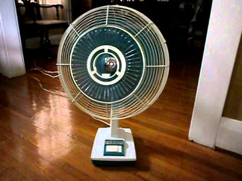 Sanyo 16 Quot Dynamic Wide Oscillating Fan Late 1960 S Model
