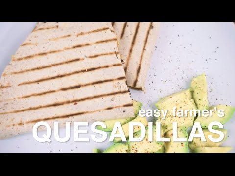 TASTY VEGAN QUESADILLAS | the new age