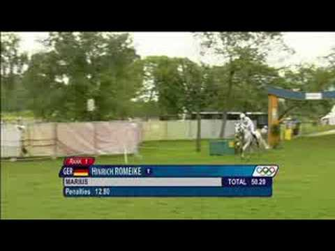 Equestrian - Eventing - Cross Country - Beijing 2008 Summer Olympic Games