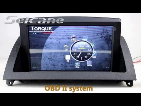 Seicane android 4 2 2010 2012 mercedes benz c class w204 for How to use mercedes benz navigation system