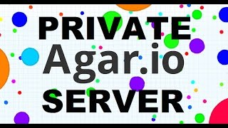 How to make a Agar.io Private Server! [TO EASY]
