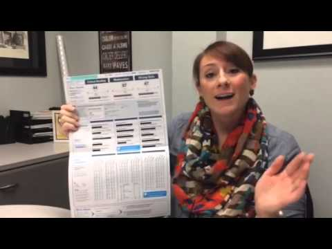 10th Grade PSAT Score Results - YouTube