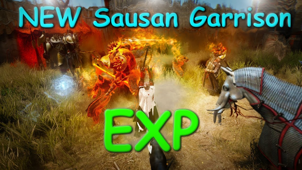 NEW Sausan Garrison EXP | Party and Solo | Black Desert Online