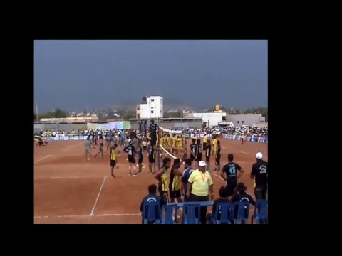 Trikam patel Volleyball tournament hubli live