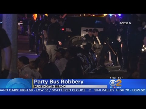 Police: Party Bus Riders Ransack Huntington Beach 7-Eleven