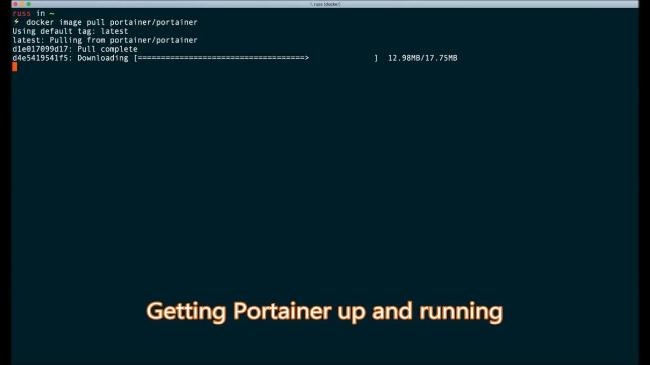 Mastering Docker - Third Edition | 11  Portainer - A GUI for Docker