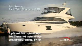 Meridian Yachts 441 Sedan Bridge 2009 Yacht Test - By BoatTest.com