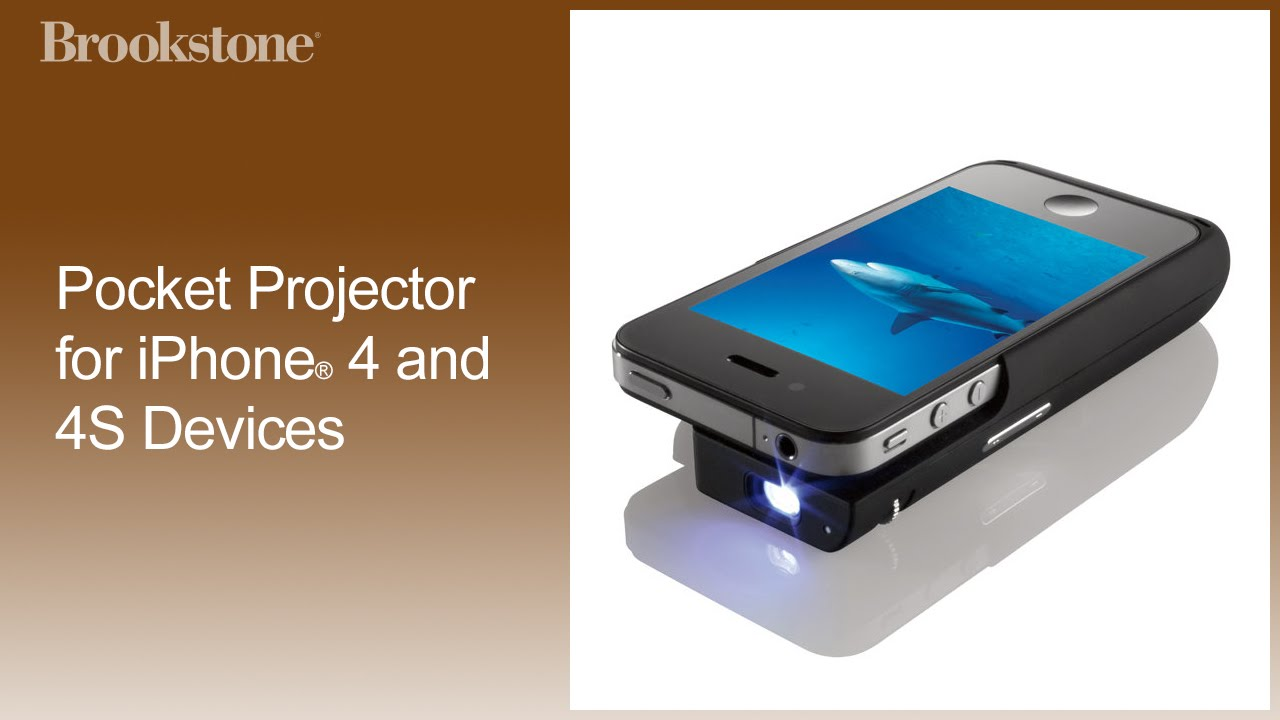 iphone movie projector pocket projector for iphone 174 4 and 4s devices how to 12064
