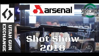 SHOT Show - 2018 What's New from Arsenal!?!