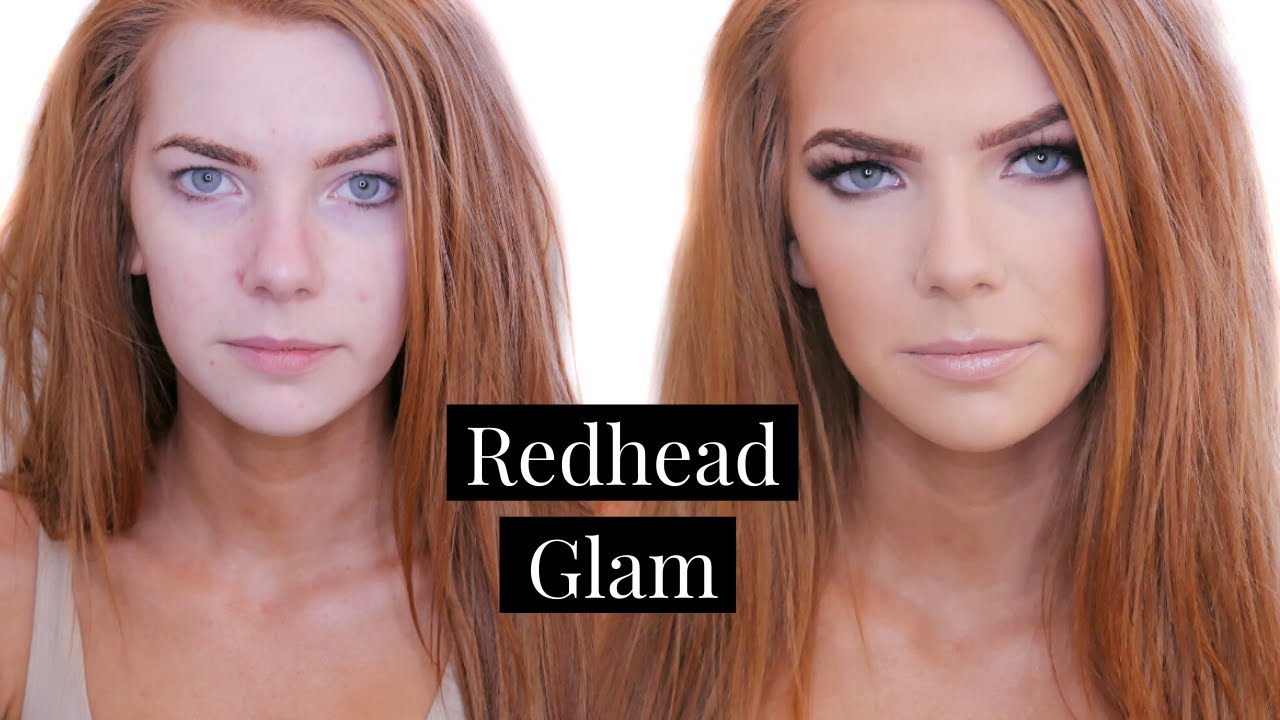 makeup for redheads tutorial (green beauty)| face by meagan