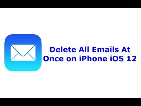 How to delete all emails from iphone se