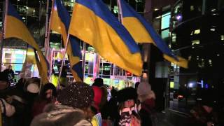 Kontakt Tv :  #freesavchenko Rally In Toronto, Canada - January 26th, 2015
