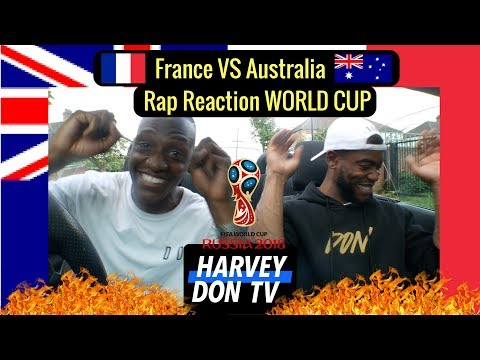 World Cup Reactions - France (Niska) Vs Australia (Kerser) HarveyDon TV @Raymanbeats