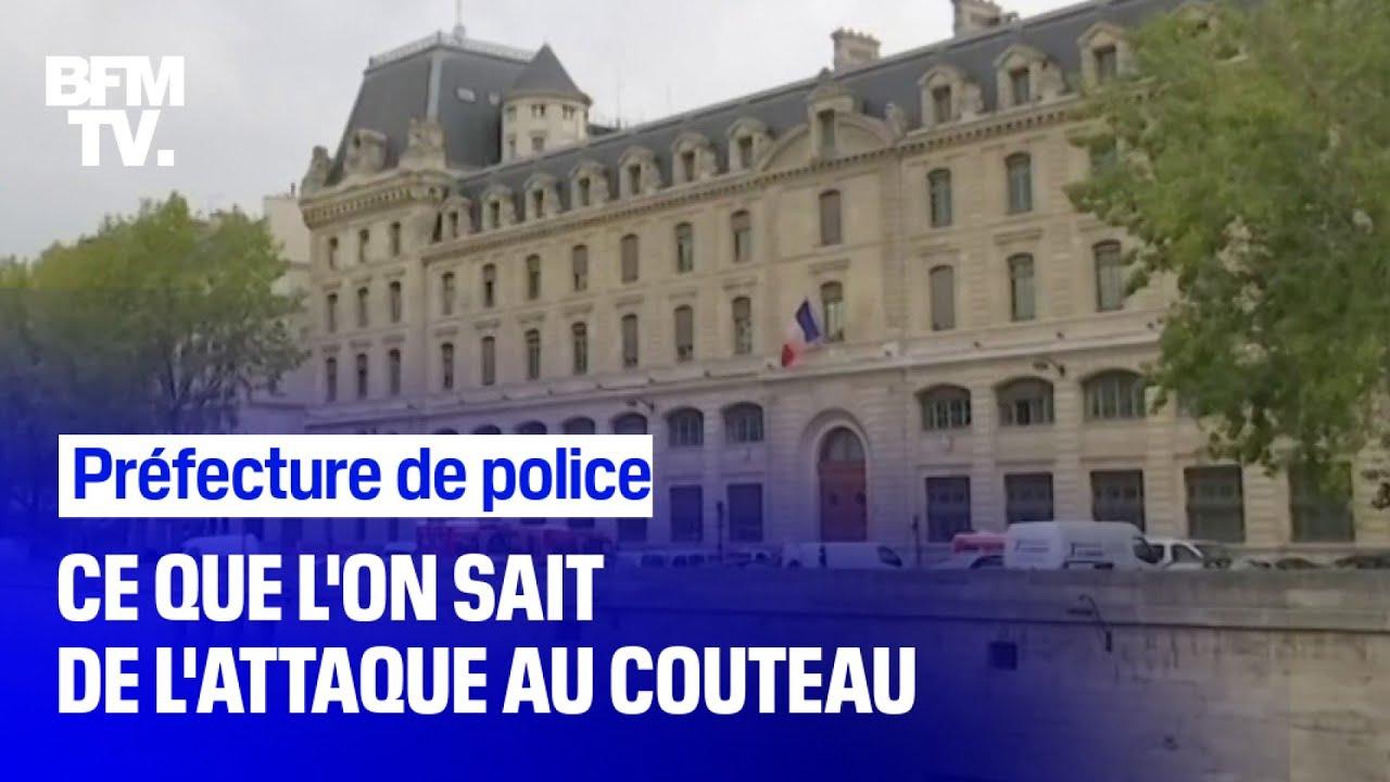 Ce que l'on sait de l'attaque au couteau survenue jeudi à la Préfecture de police de Paris