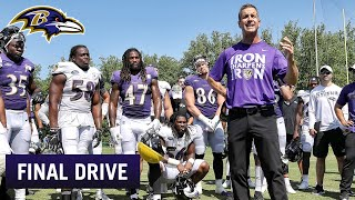 Coach Harbaugh Takes the Team to the Movies| Ravens Final Drive