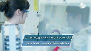 El principio fundamental de la tecnología de ARN mensajero es diseñar y administrar un antígeno a las células con el fin de inducir una respuesta inmunitaria.