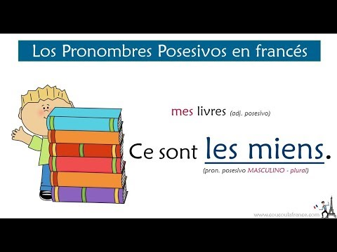 Los Pronombres Posesivos En Francés Les Pronoms Possessifs Youtube